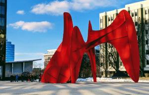 La Grande Vitesse sculpture.
